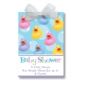 Rubber Ducky Baby Shower Game Book